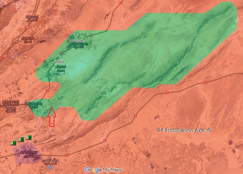 Tiger Forces Launch Military Operation Against Militants In Eastern Qalamun (Map, Photos)