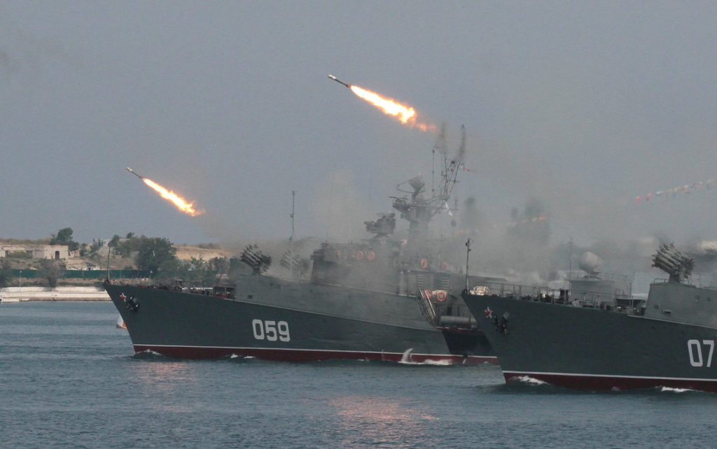 Russian Navy Launches Live-Fire Exercises Off Syrian Coast Amid Expected US Strikes