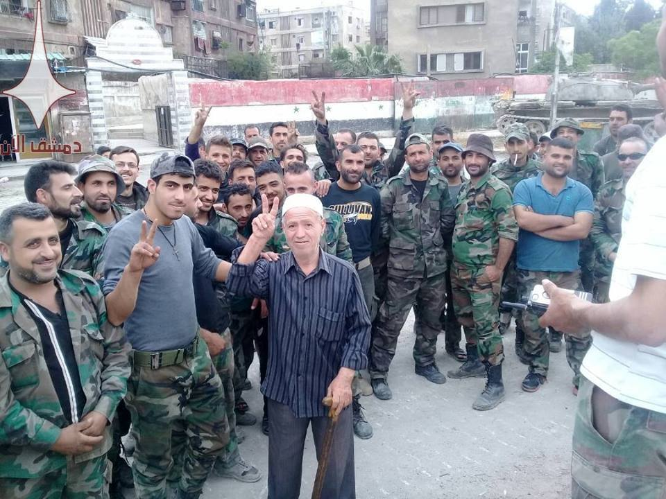 Syrian Army Is About To Storm ISIS-held Areas In Southern Damascus (Photos)