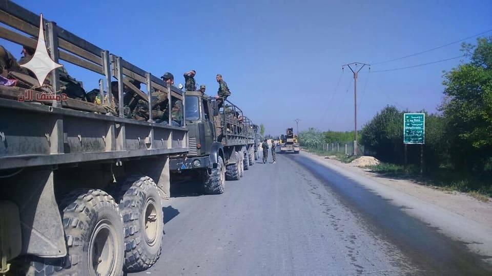 ИГИЛ обстреляло Дамаск в ответ на подготовку к штурму их позиций