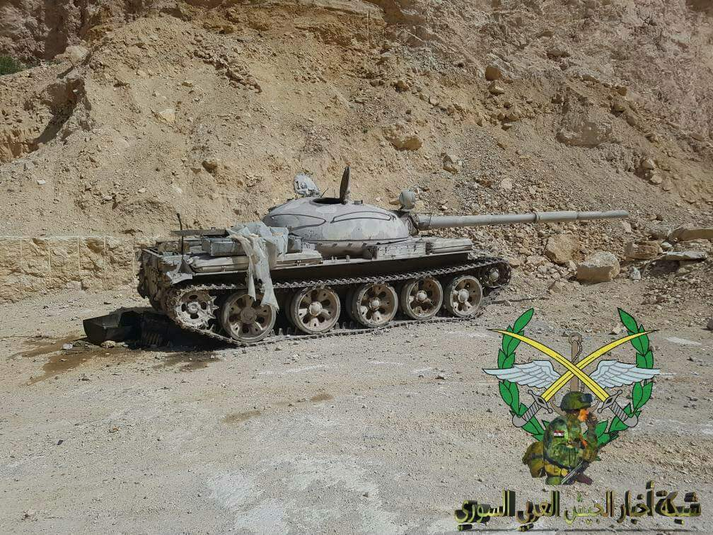 Militants In Eastern Qalamun Hands Over 37 Battle Tanks, Many Other Weapons To Syrian Army