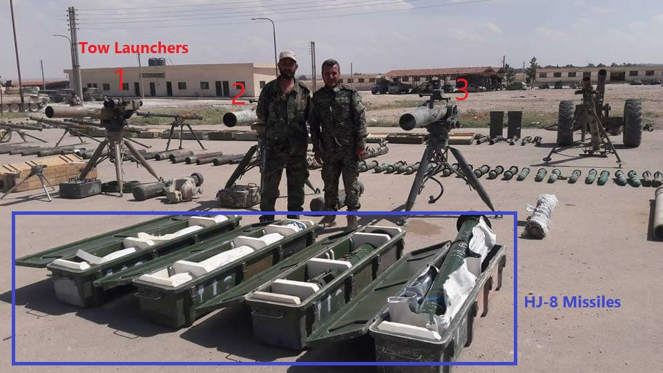 Qalamun Militants Hand Over Dozens Of ATGMs, Other Weapons To Syrian Army (Photos, Video)