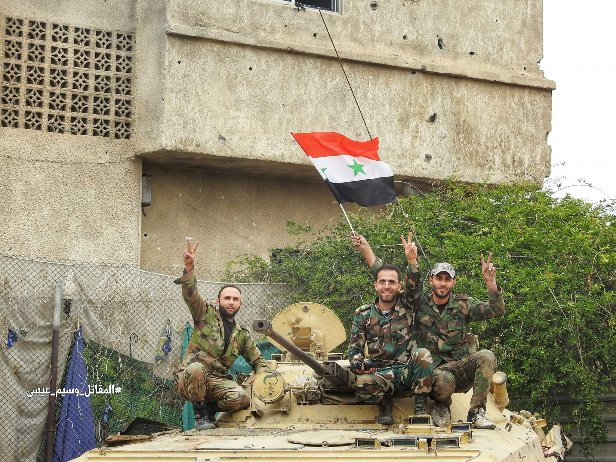 Government Forces Liberate Three Districts In Southern Damascus As ISIS Defense Collapses (Photos)