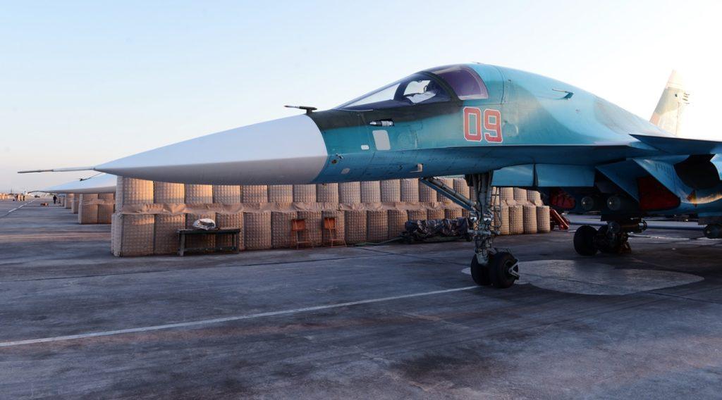 Photo Report: Russian Warplanes Deployed In Syrian Khmeimim Airbase