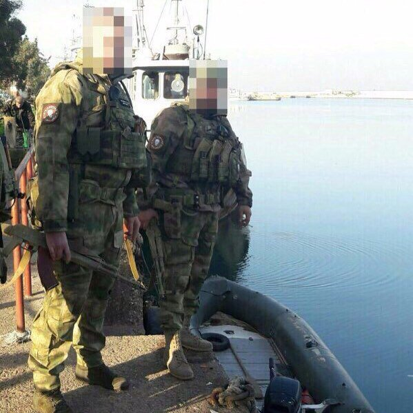 Photos, Video: Russian Personnel In Syria