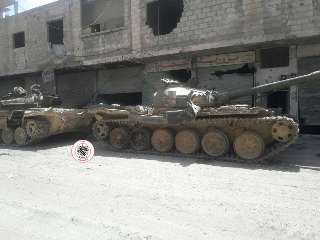 In Photos And Videos: Government Forces Tighten Siege On ISIS-held Area In Southern Damascus