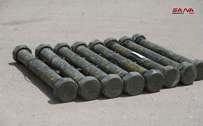 Eastern Qalamun Militants Hand Over More Anti-Tank And Anti-Aircraft Missiles To Syrian Army (Video, Photos)