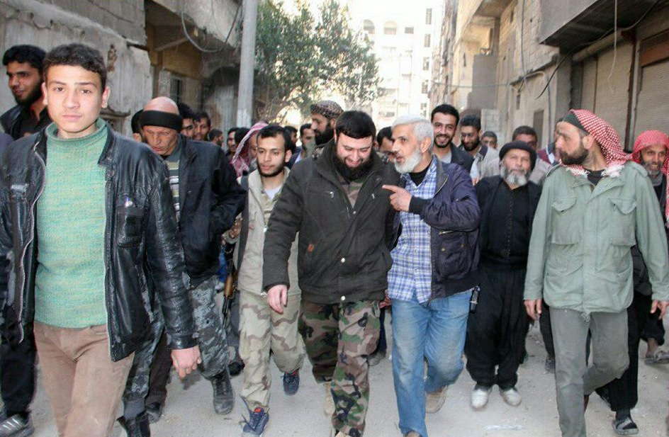 Jaysh Al-Islam Joins Turkish-backed Forces In Northern Syria