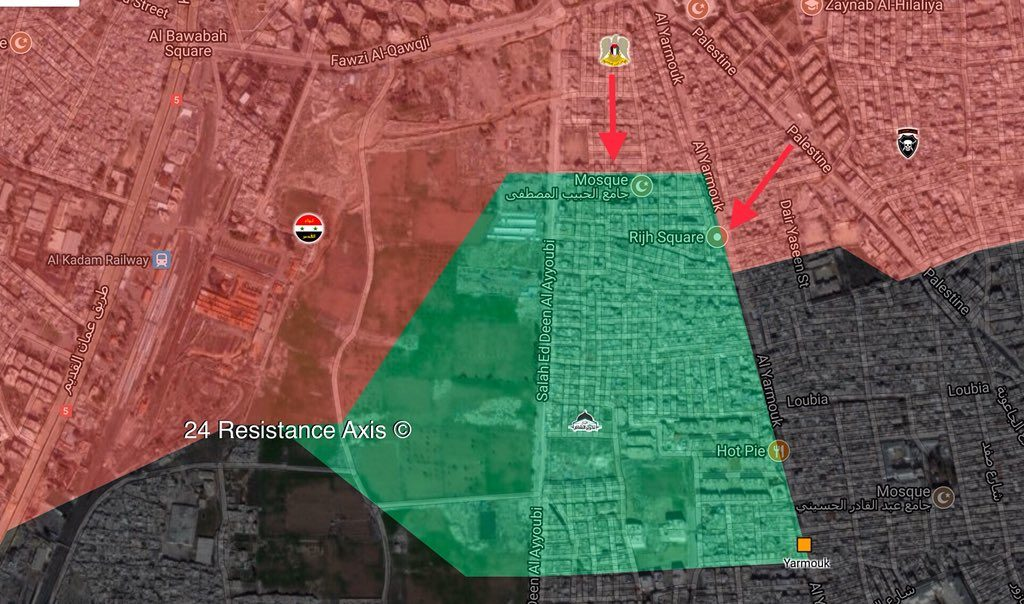 In Videos, Photos: Government Forces Developing Momentum In Southern Damascus