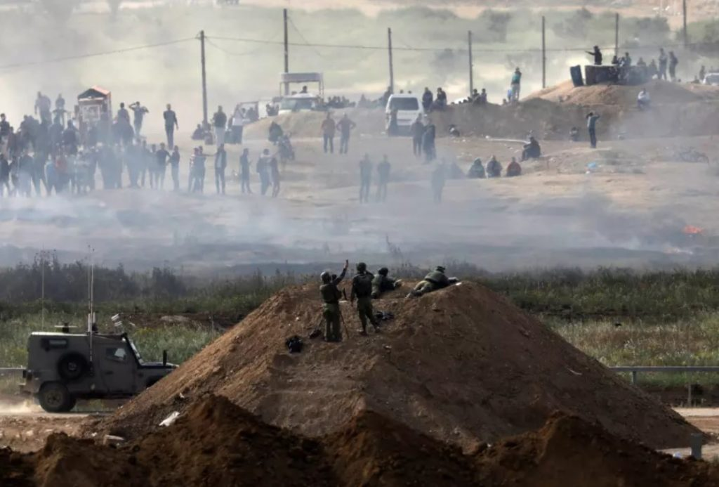 Russia Slams Israel Over Use Of Indiscriminate Force Against Palestinians
