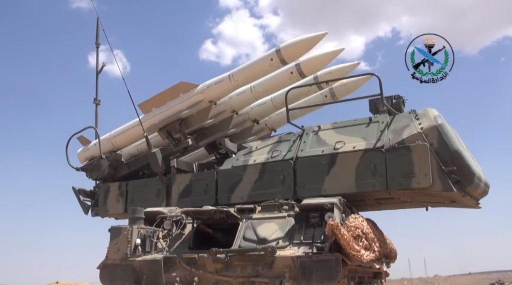 Syrian Military Showcases Its Air Defense Systems In New Promo Video