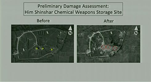Pentagon Denies Any Missiles Were Intercepted By Syrian Forces, Provides Own Version Of Events