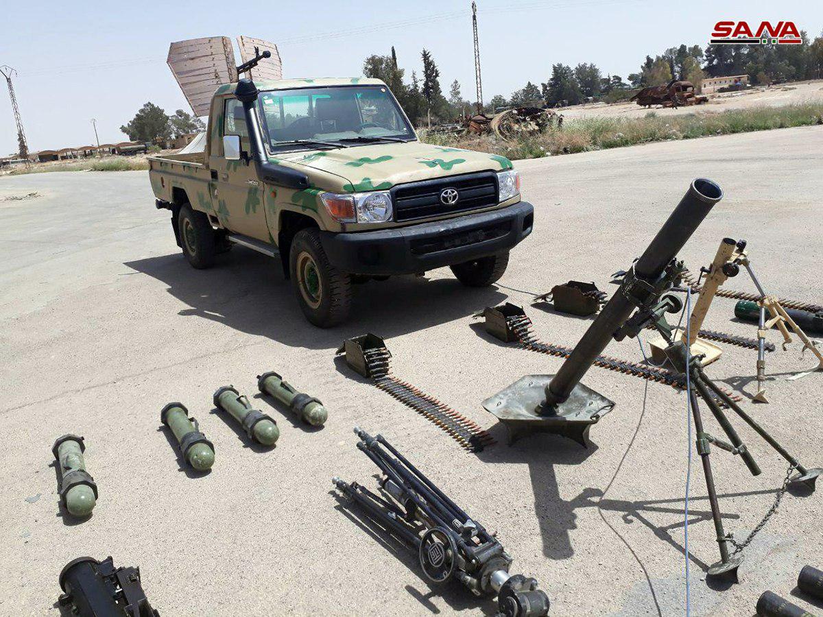 Militants Start Withdrawing From Dumayr Town Towards Jarabulus