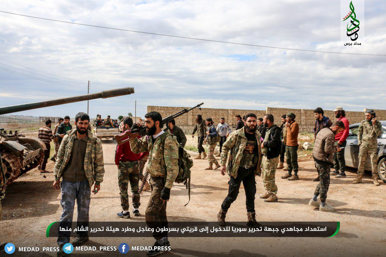 Syrian Liberation Front Launches New Attack Against Hay'at Tahrir al-Sham In Western Aleppo