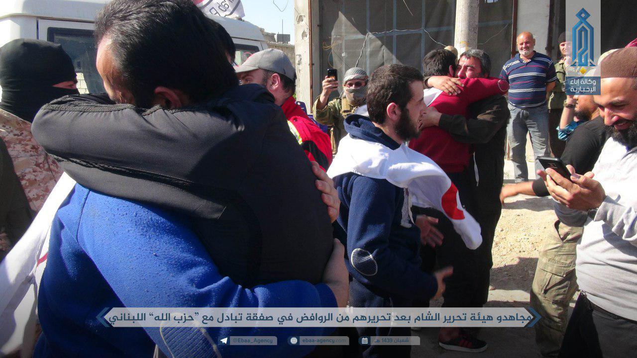 Hay'at Tahrir al-Sham And Hezbollah Exchange Prisoners In Western Aleppo (Photos)