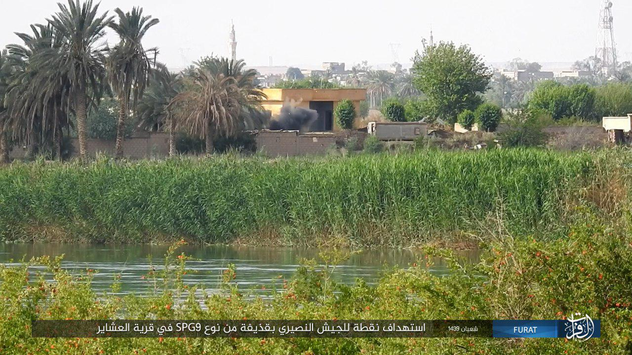 ISIS Attacks Several Syrian Army Positions In Southern Deir Ezzor (Photos)