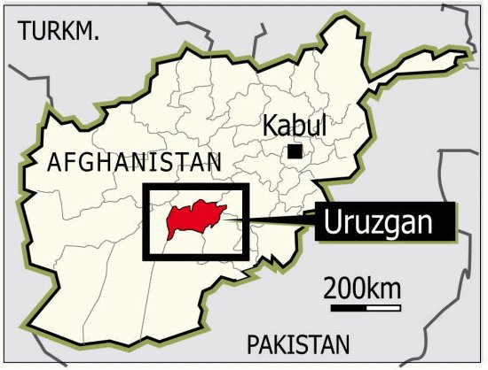Taliban Captures Four Key Military Positions In Central Afghanistan