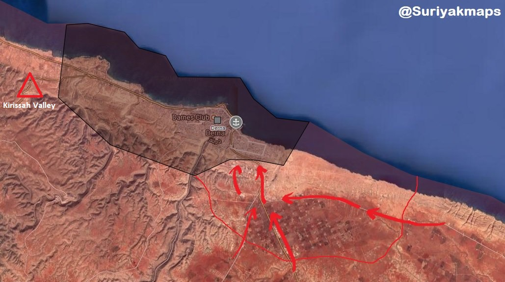 Libyan National Army Deploys More Units Around Derna City