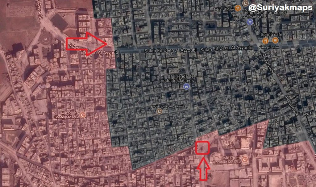 Overview Of Military Operation In Southern Damascus On May 14, 2018 (Maps, Videos)