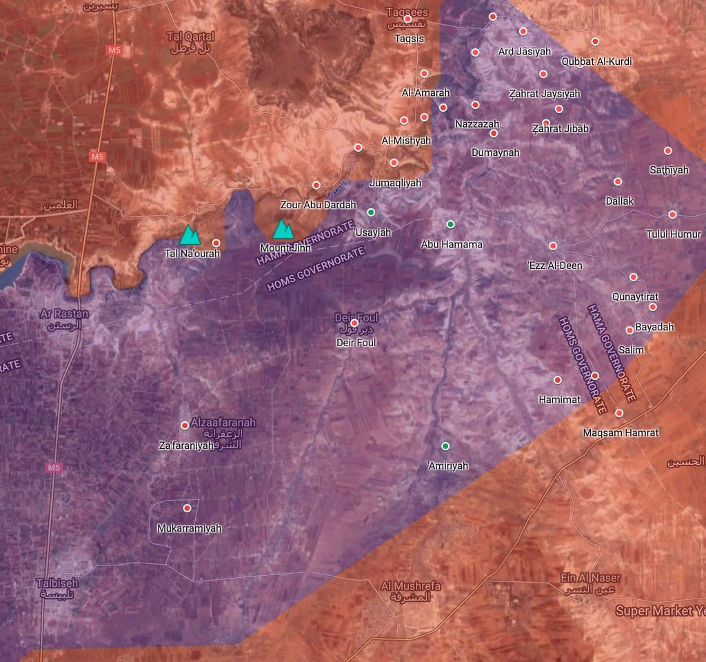Syrian Security Forces Enter Over Dozen Of Villages In Rastan Pocket (Map Update)