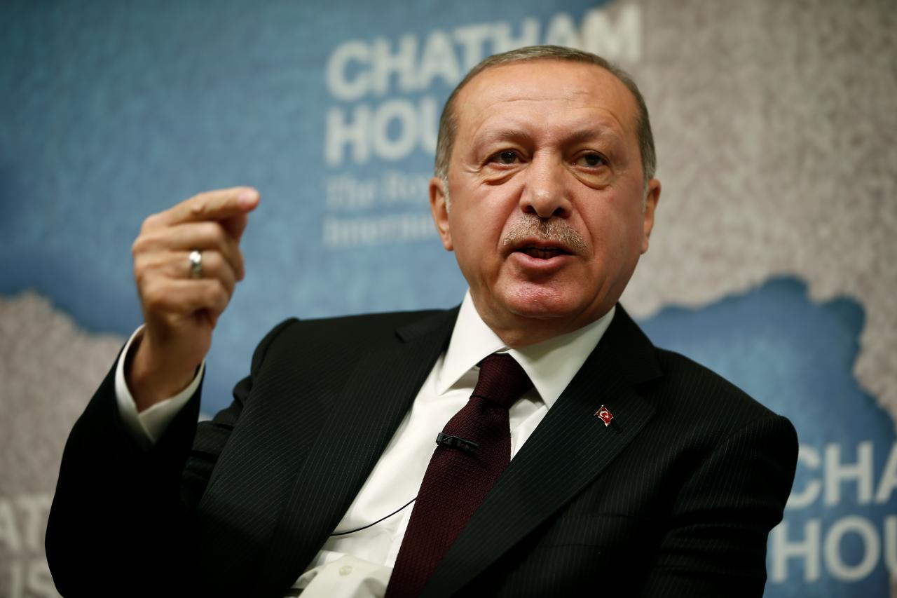 "Turkish President Says Syrian Army Runs ""Psychological Operation"" In Manbij"
