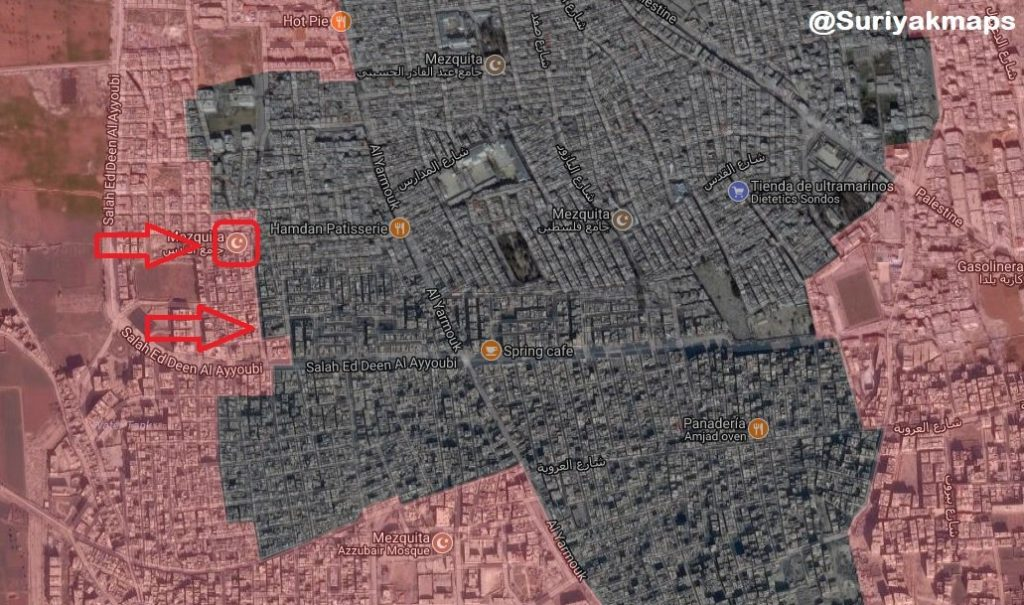 Overview Of Anti-ISIS Operation In Southern Damascus On May 16, 2018 (Videos, Map)