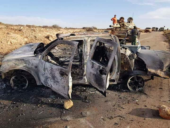 Libyan National Army Seizes Villages On Outskirts Of Militants' Stronghold Of Derna (Photos, Map)