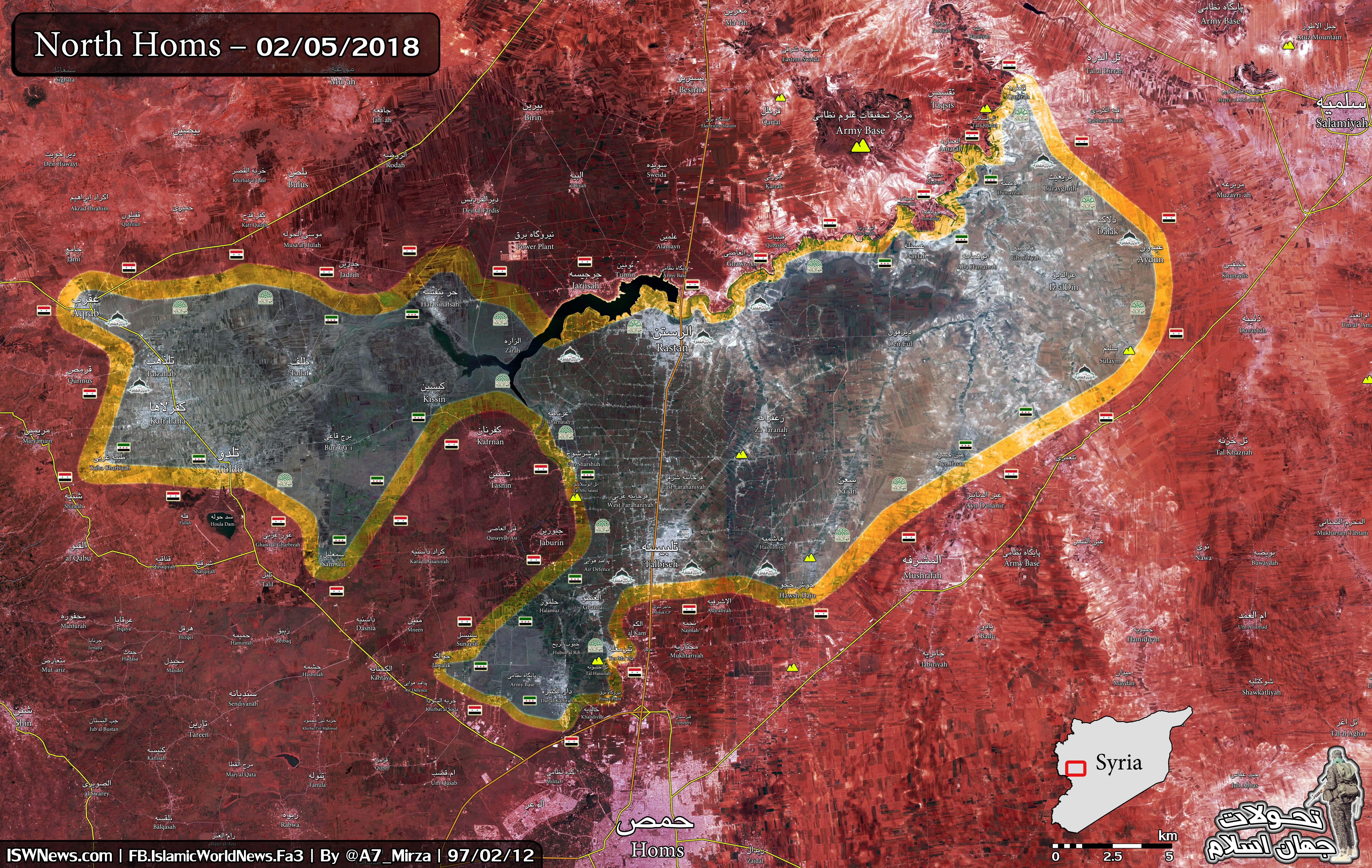 Evacuation Of Militants From Rastan Pocket Delayed