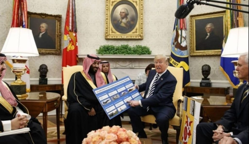 Trump Is Giving Saudi Arabia an Easy Path to Nukes