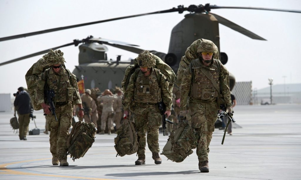 UK May Double Number Of Its Troops In Afghanistan To 'Send Message To Allies' - Reports