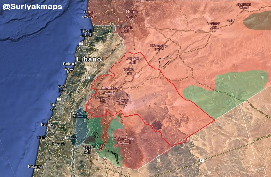 Government Forces Start Redeploying For Operation Against Militants In Southern Syria (Map, Videos)