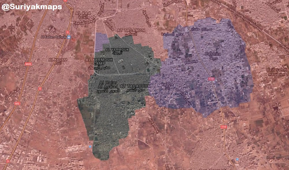 Overview Of Syrian Military's Operation In Southern Damascus On May 1, 2018 (Map, Photos, Videos)