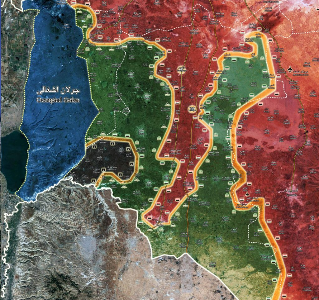 Part Of Daraa Militants Requests Negotiations With Government Ahead Of Expect Syrian Army Advance