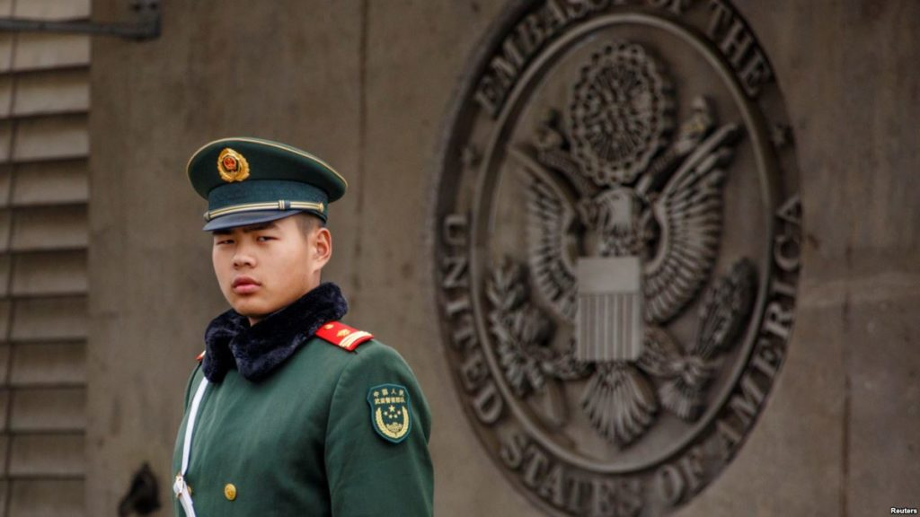 US Embassy Worker In China Is Allegedly Injured In Sonic Attack