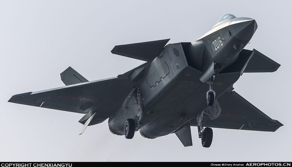 China May Send Its Chengdu J-20 Stealth Fighters To Conduct Patrols Over Taiwan - Media