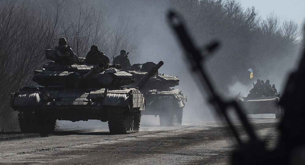 Ukrainian Army Deploys More Military Equipment At Contact Line With DRP, LPR Forces