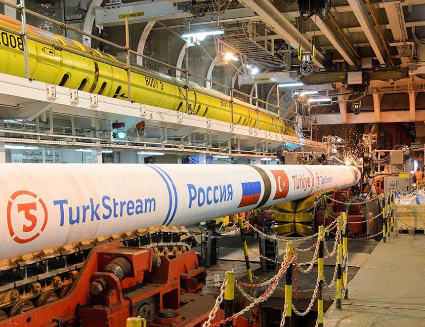 Turkey, Russia Agree On Construction Of Land Part Of Turkish Stream