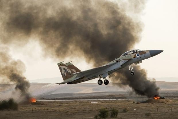 Israeli Warplanes Struck Group Of ISIS Fighters Near Golan Heights
