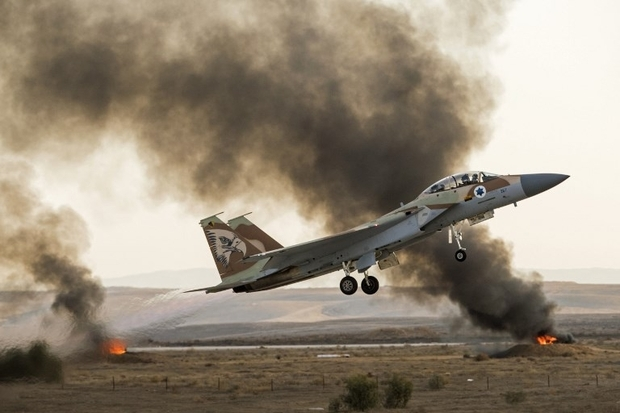 Israeli Warplanes Struck Group Of ISIS Fighters Near Golan Heights