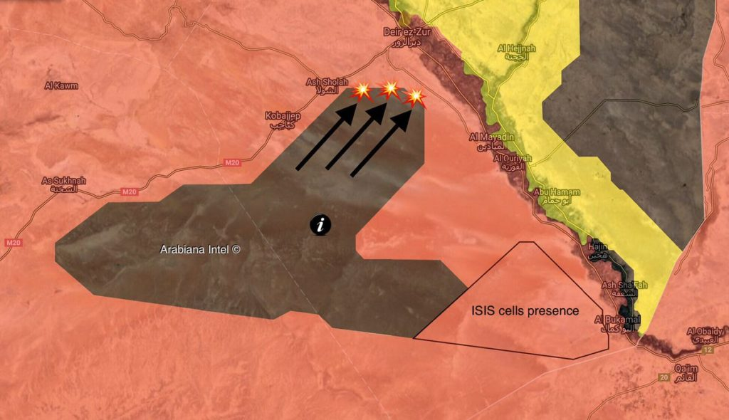 More Details About Clash With ISIS In Syria's Deir Ezzor In Which Russian Military Advisers Were KIlled