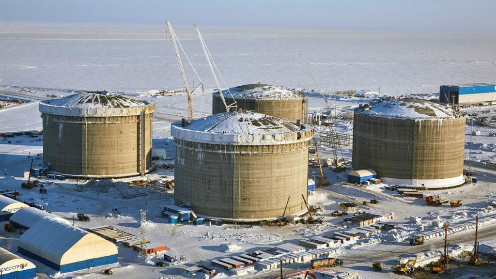 France's Energy Company Total Joins $25 billion Russian Arctic LNG Project