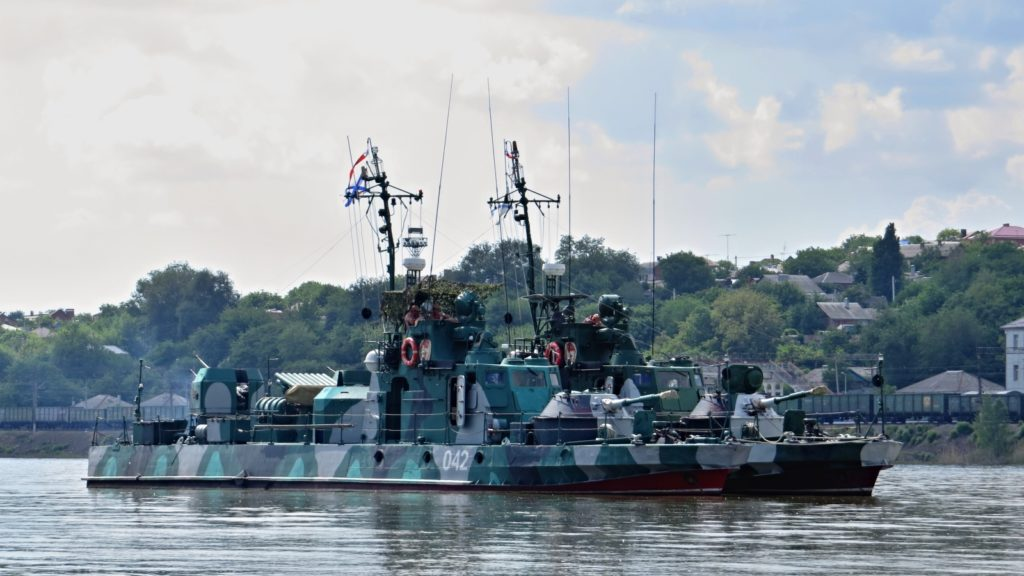 Russia Deploys More Patrol And Gun Boats In Sea Of Azov