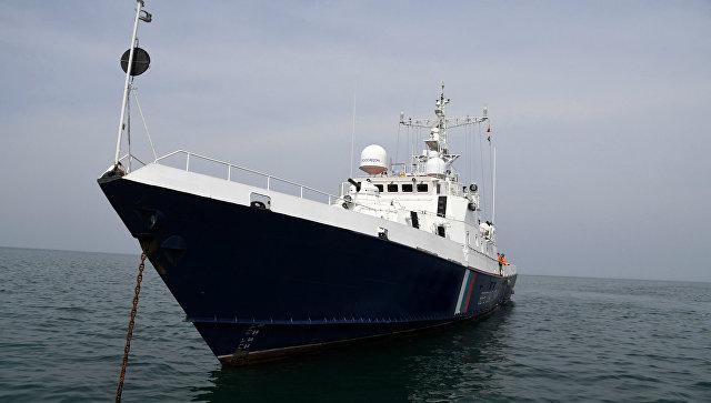 Russia's Coastguards Detain Ukrainian Fishing Vessel In Black Sea