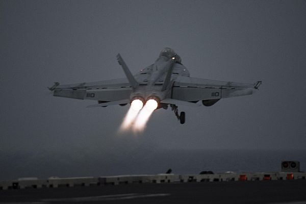 U.S. Harry S. Truman Aircraft Carrier Starts Carying Out Sorties Over Syria From Mediterranean: US Navy