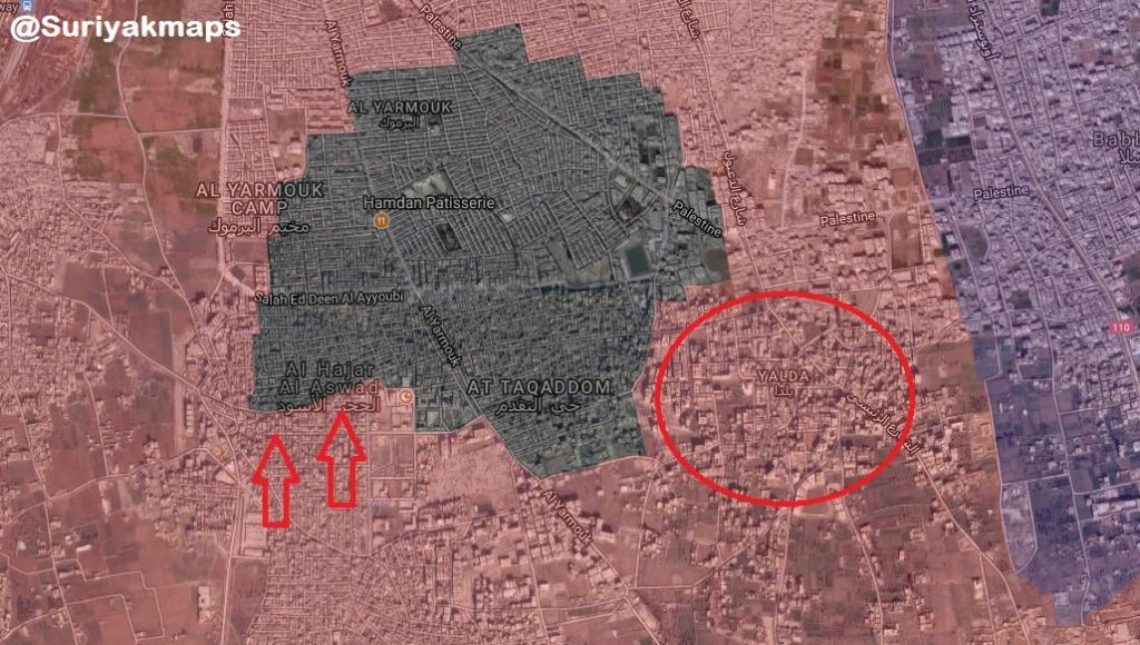 Overview Of Syrian Army's Operation In Southern Damascus On May 7, 2018 (Videos, Map)