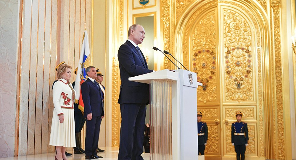 Putin Is Inaugurated As Russian President For Fourth Time