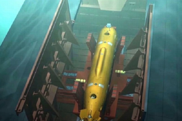 Russia's Nuclear Underwater Drone Could Trigger 300-Foot Tsunamis, Headed For Battlefield By 2027