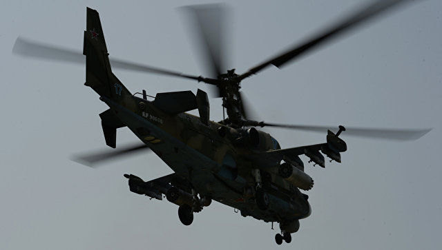 Russian Ka-52 Attack Helicopter Crashed In Syria. Two Pilots Died