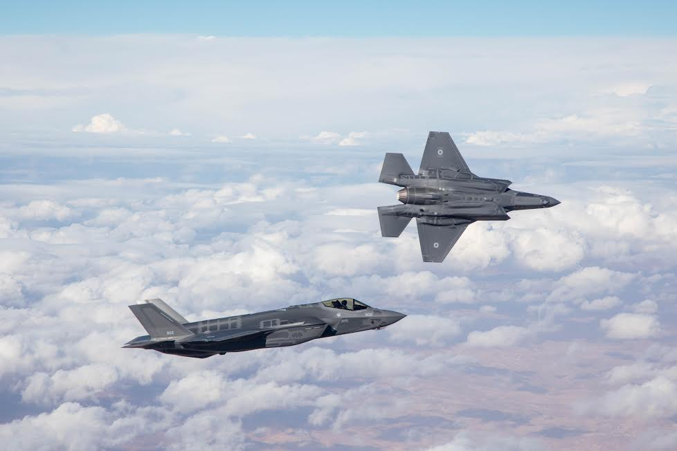 Israeli Air Force Chief: F-35I Stealth Fighters Participated In Strikes On Syria