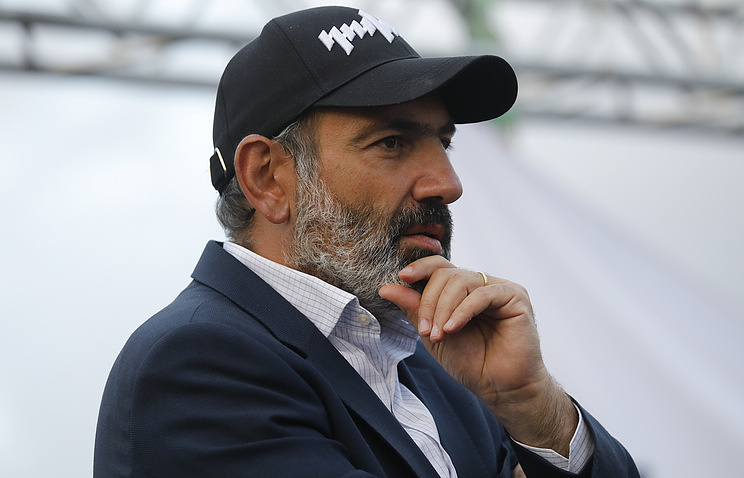 Opposition's Leader Nikol Pashinyan Is New Armenian Prime Minister